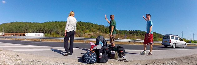 Hitchhiking 24 Countries