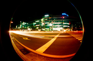 Lomography Fisheye Sample Shot Long Exposure