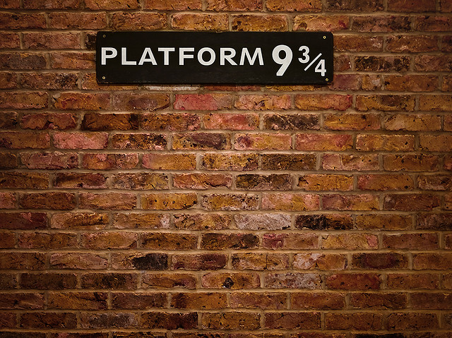 'Platform 9 3/4' by Oleg Sklyanchuk available at http://www.flickr.com/photos/sklyanchuk/4002322868/ under a Creative Commons Attribution 3.0. Full terms at http://creativecommons.org/licenses/by/3.0/