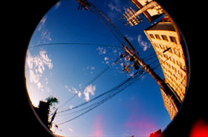 Lomography Fisheye Sample Shot Standard