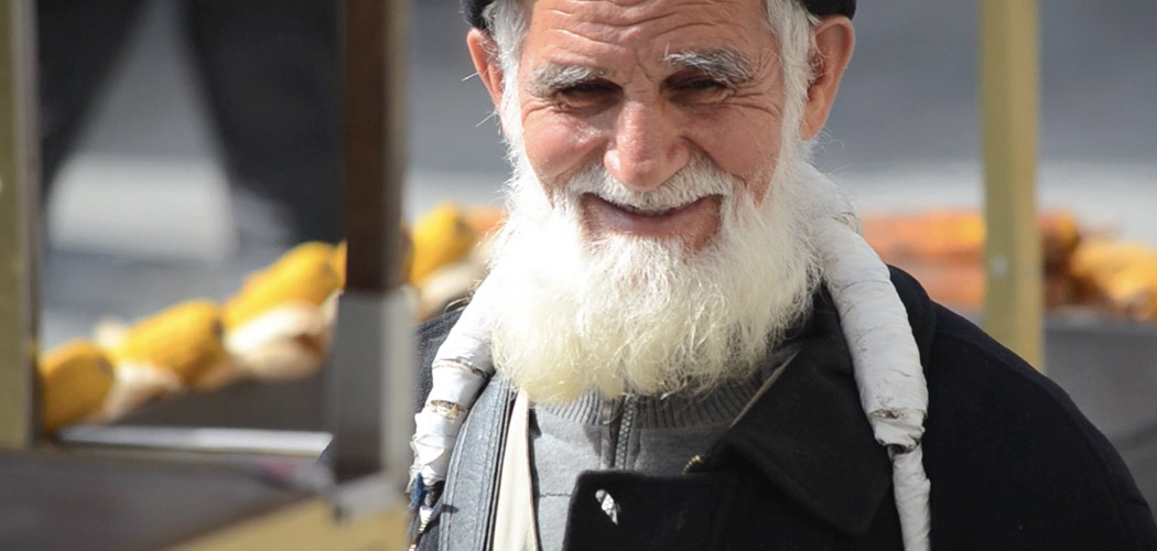 Old Turkish Man at Market