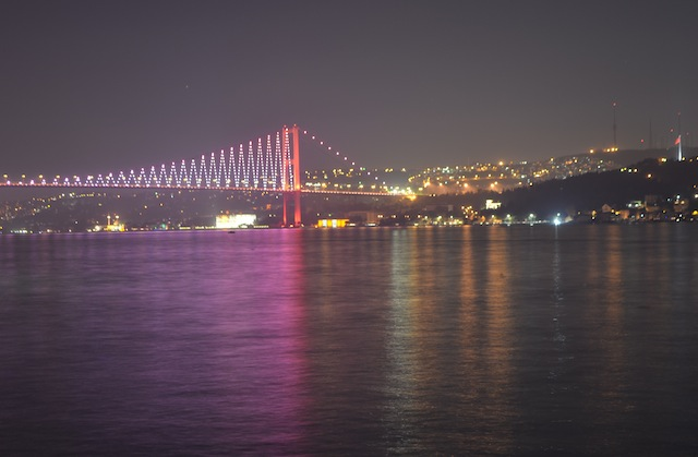 The Bridge That Connects the Asian and European Sides of Istanbul