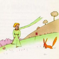 the little prince and the fox