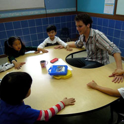 Teaching Korean kids who want to learn