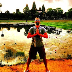 Steve at Angkor 2013