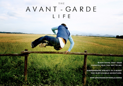 Avant-Garde Life Cover 500px