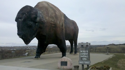 Worlds-Largest-Buffalo-Jamestown-North-Dakota