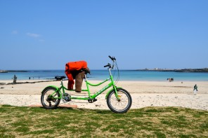 Tandem Bicycle on Udo, South Korea 007