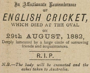 Death of English Cricket
