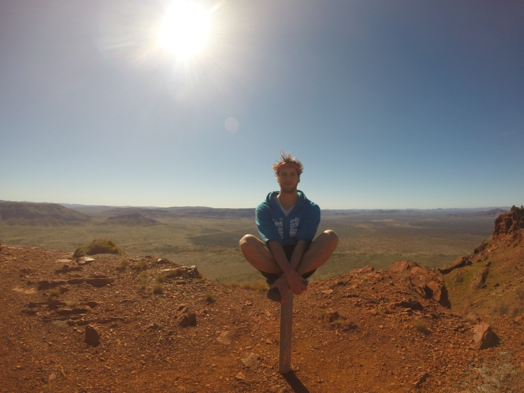 Top of Mount Bruce, Western Australia