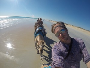 Camel riding, Broome