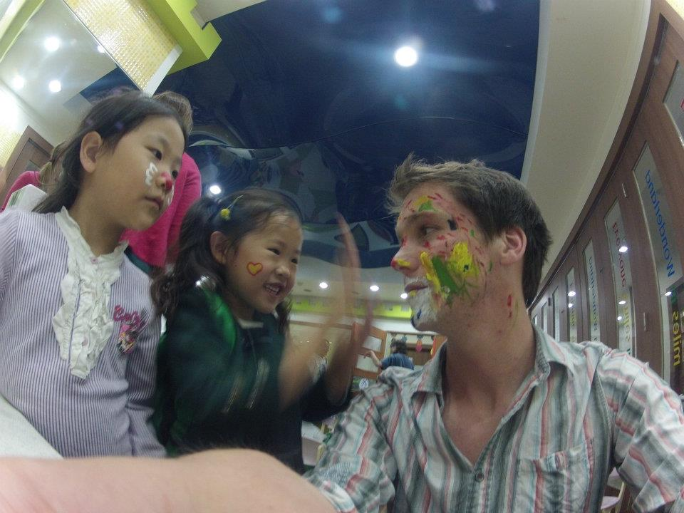 Face Painting South Korea School