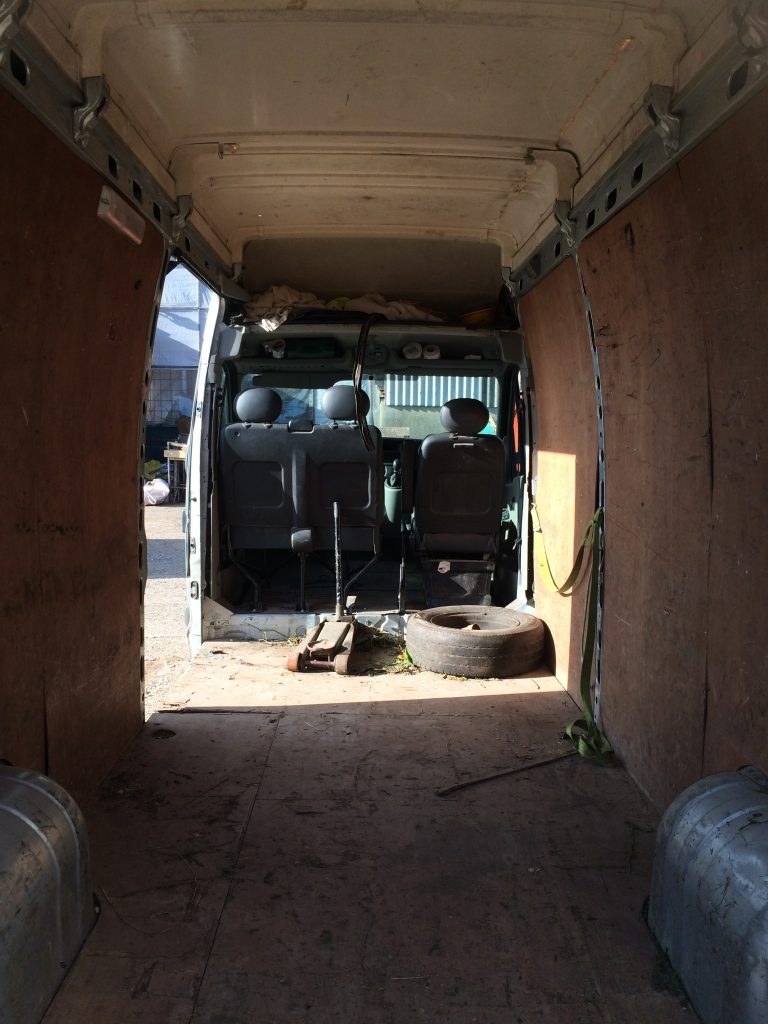 cleaning-the-beast-donkey-van-conversion-01-interior-pre-wash
