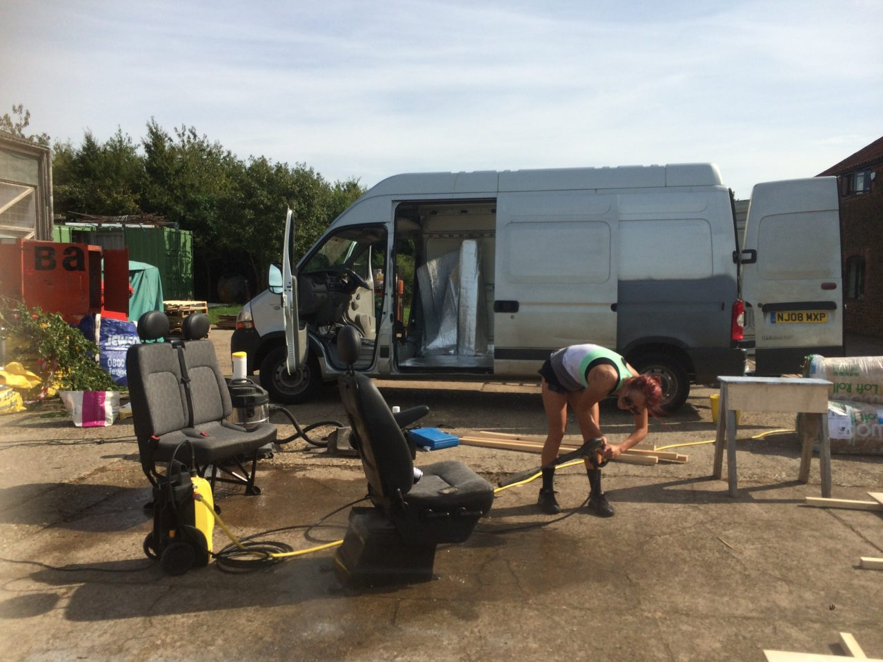 cleaning-the-beast-donkey-van-conversion-70-washing-seats