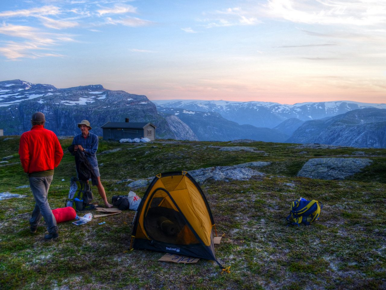 Atop Trolltunga in Norway - Free Camping