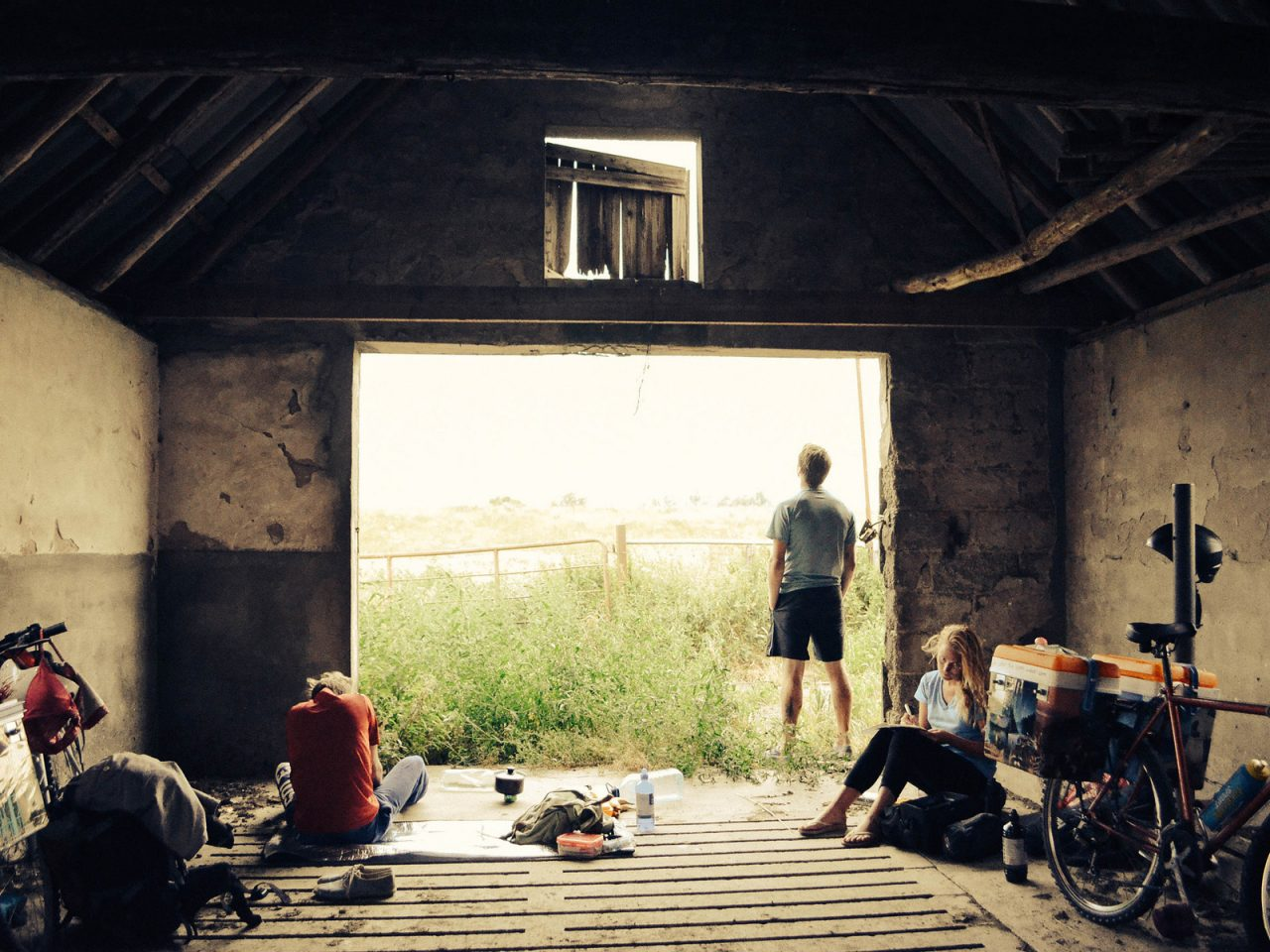 In a Barn, Germany - Free Camping