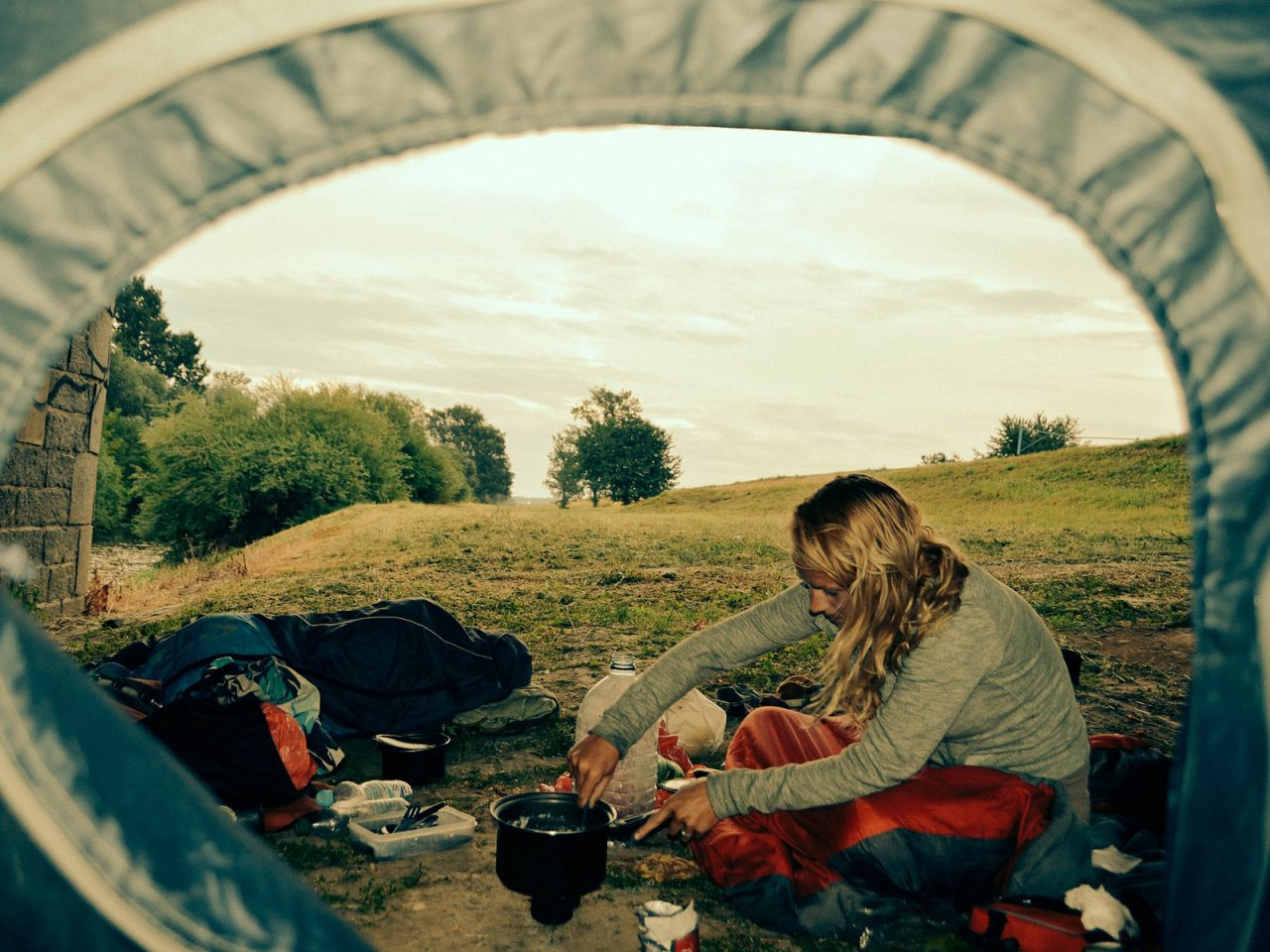 Under Another Bridge, Czech Republic - Free Camping
