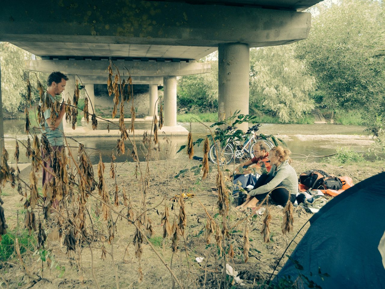 Under a Bridge, Czech Republic - Free Camping